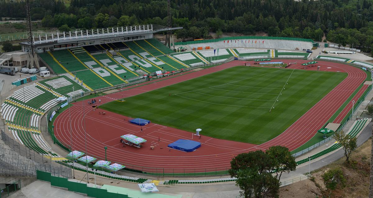 Beroe Stadium in Stara Zagora, Bulgaria